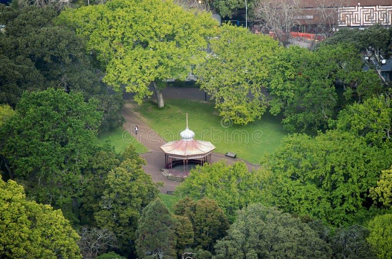 Príncipe Albert Park em Auckland Nova Zelândia NZ imagem de stock
