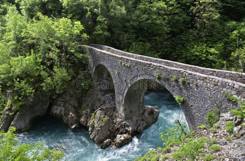 Príncipe Danilos Bridge fotos de archivo