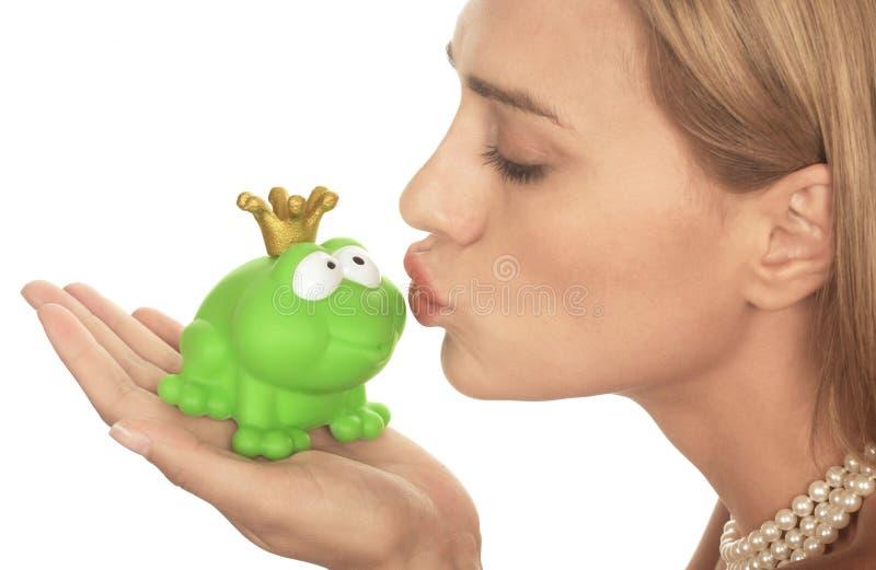 Príncipe de la rana imagen de archivo libre de regalías