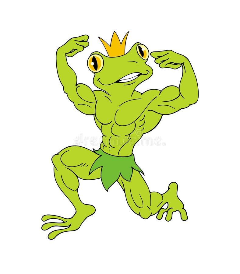 Príncipe feio ilustração do vetor