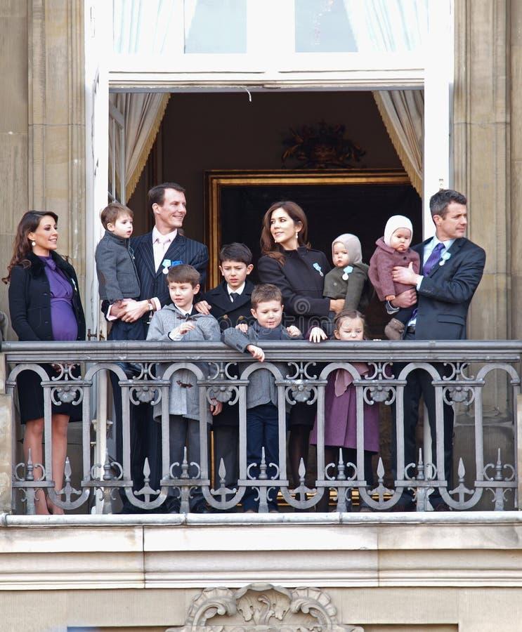 Príncipe Frederik e príncipe Joachim fotografia de stock royalty free