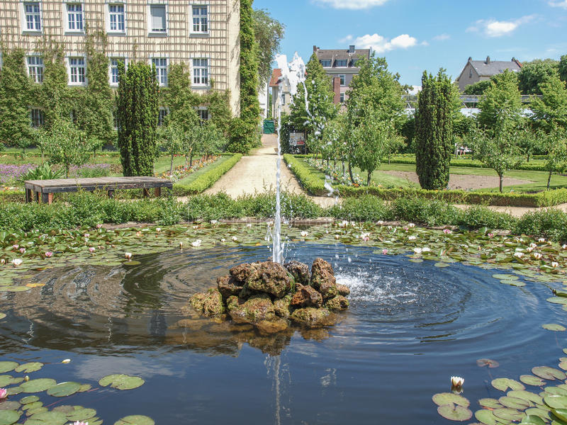 Príncipe Georg Garden em Darmstadt fotos de stock royalty free