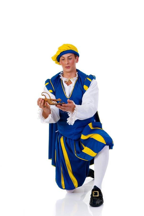 Príncipe, Halloween foto de stock royalty free