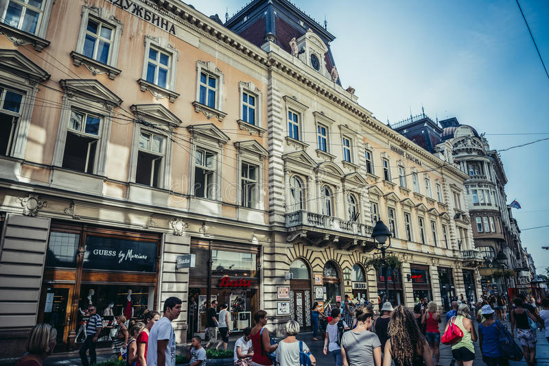 Príncipe Michael Street fotos de stock royalty free