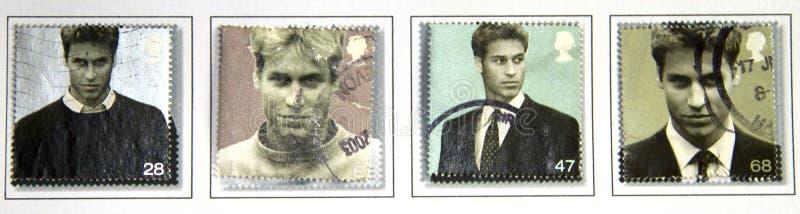 Príncipe William de Wales fotografia de stock