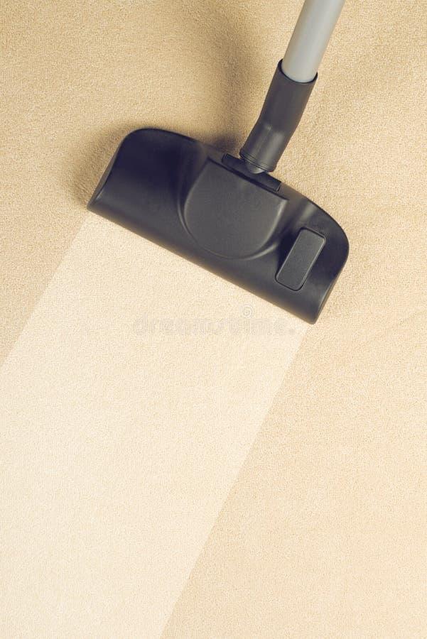 Próżnia Czyści Nowego dywan obrazy stock