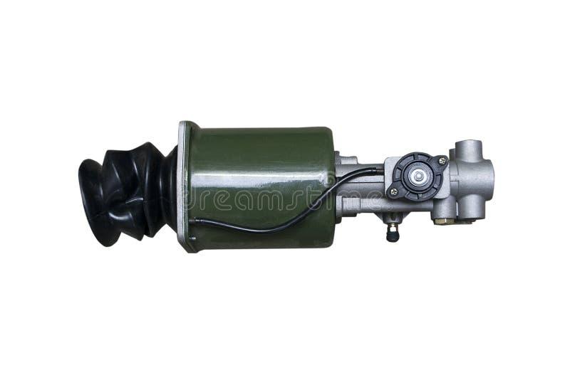 Próżnia hamulcowy detonator na odosobnionym fotografia stock