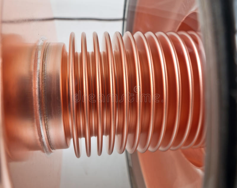 Próżniowa tubka obraz stock