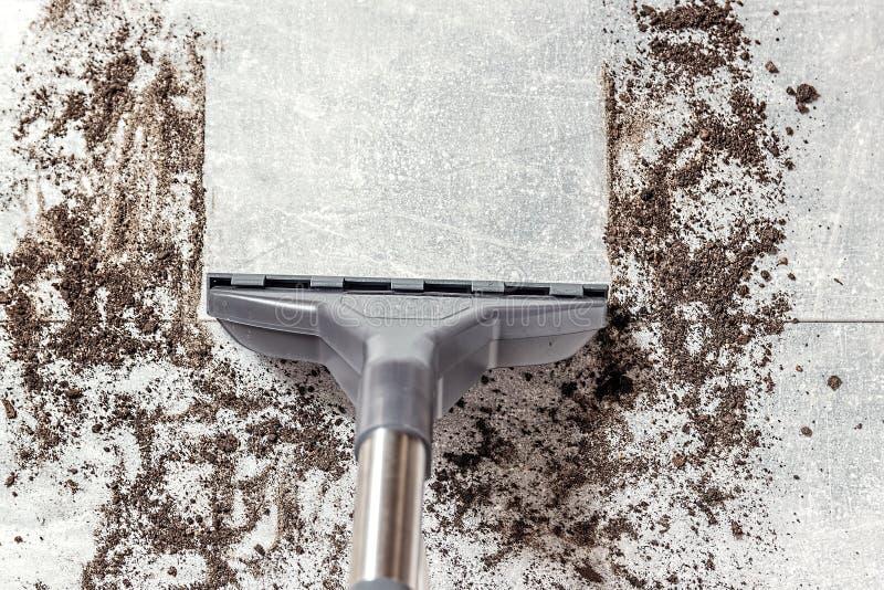 Próżniowy cleaner E cleaning zdjęcia stock