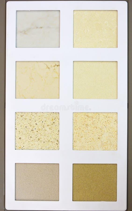 Próbka katalog różny kamienny projekta wzór obraz royalty free