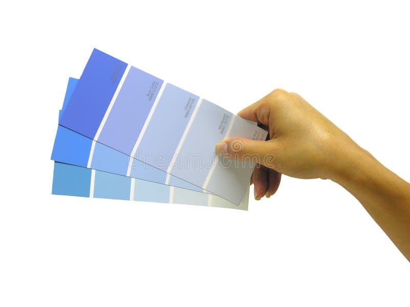 próbki farby obrazy stock
