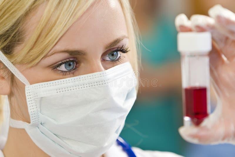 próbki krwi, zdjęcia stock