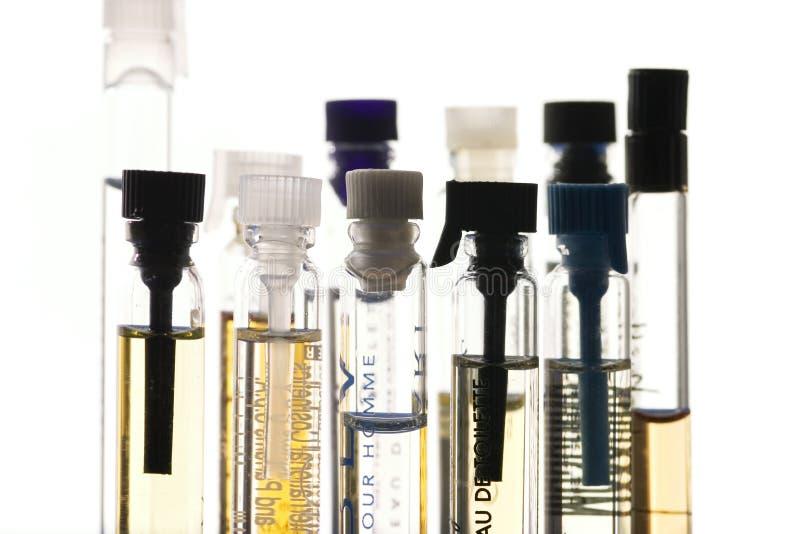 próbki perfum obraz royalty free