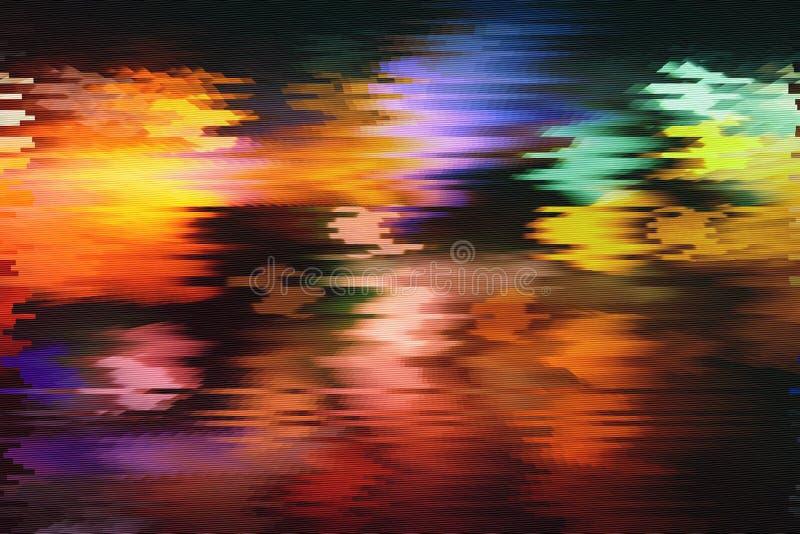Próbna Parawanowa usterki tekstura obraz stock