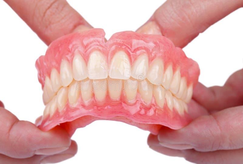Prótesis dental imágenes de archivo libres de regalías