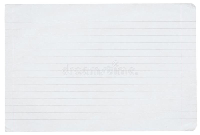 prążkowany papierowy kawałek zdjęcie stock
