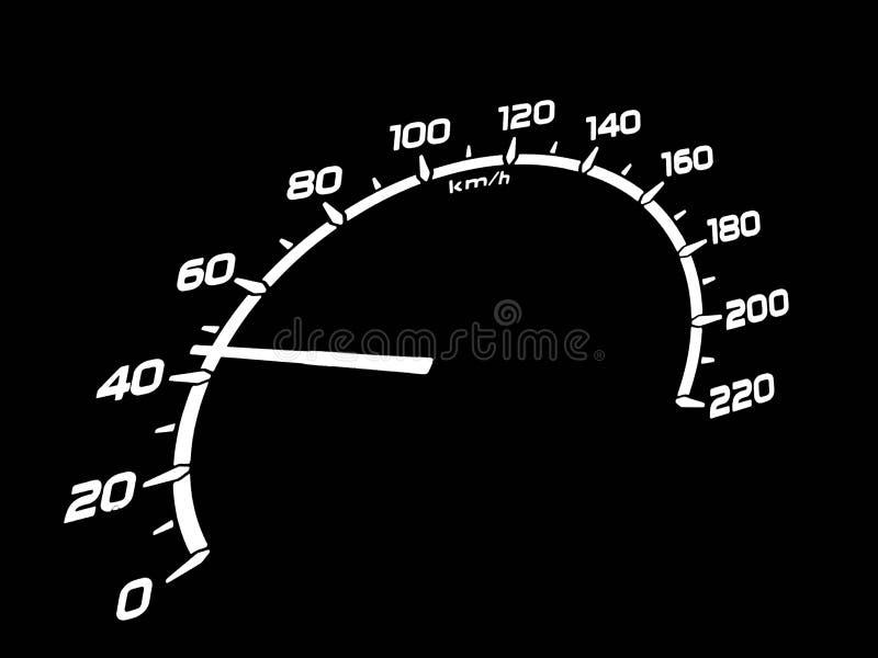 prędkość royalty ilustracja