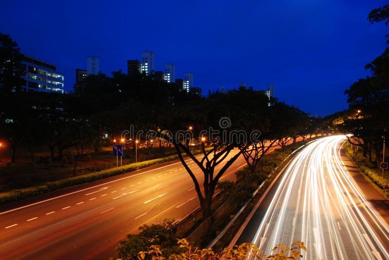prędkość autostrady obraz royalty free
