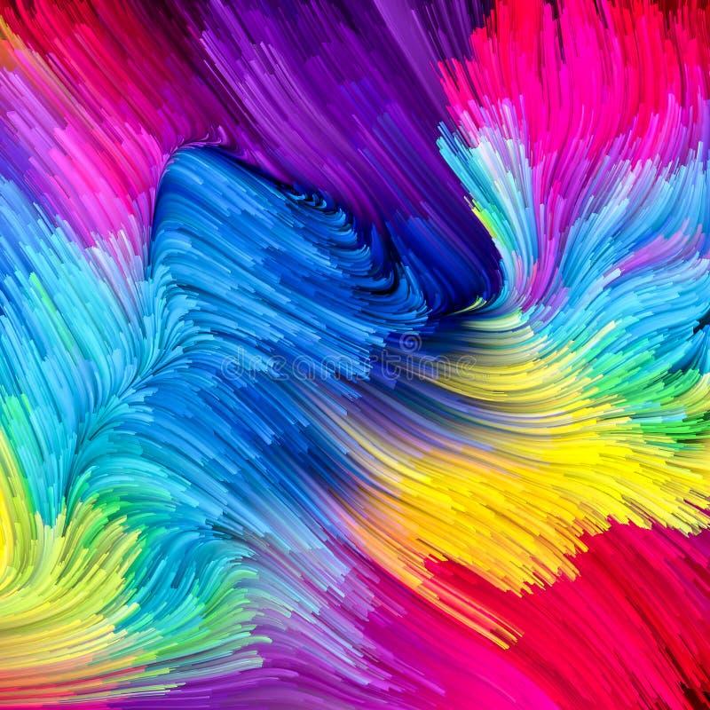 Prędkość Ciekły kolor zdjęcia stock