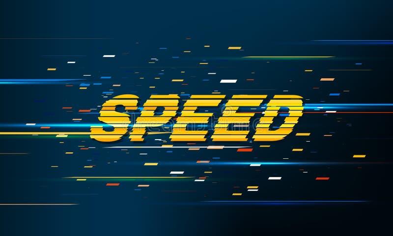 Prędkość ruchu wzoru tło ilustracja wektor