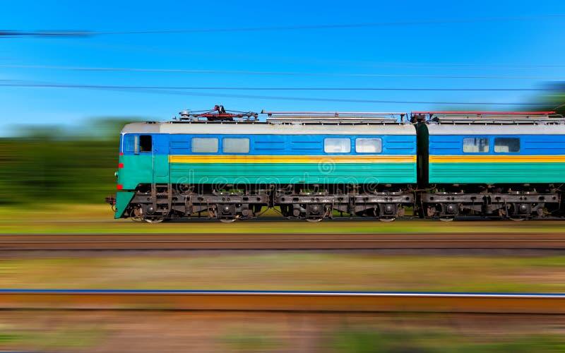 prędkość wysoki pociąg zdjęcia royalty free