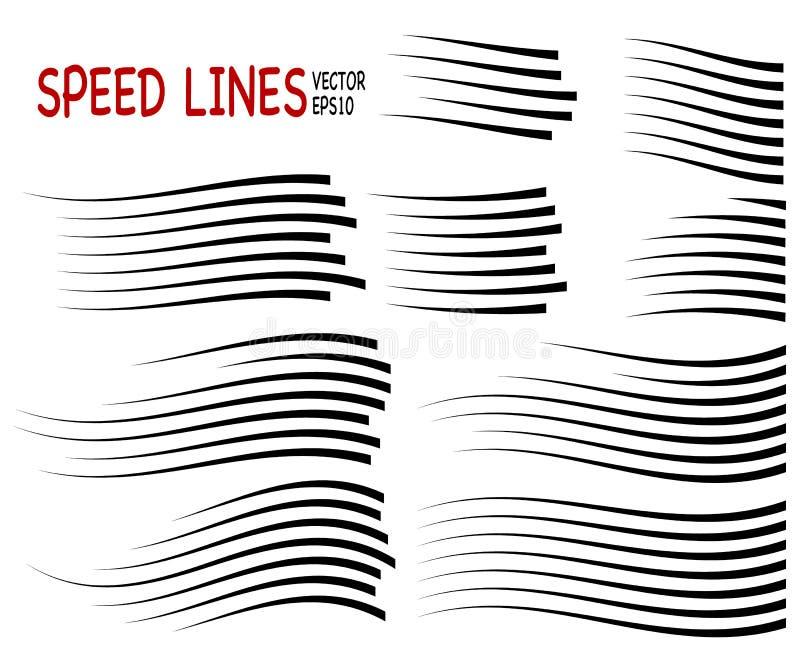 Prędkości linia royalty ilustracja