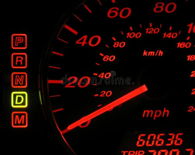 prędkościomierz zdjęcie stock