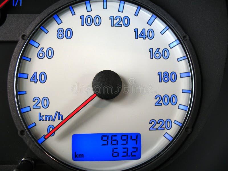 prędkościomierz obraz stock