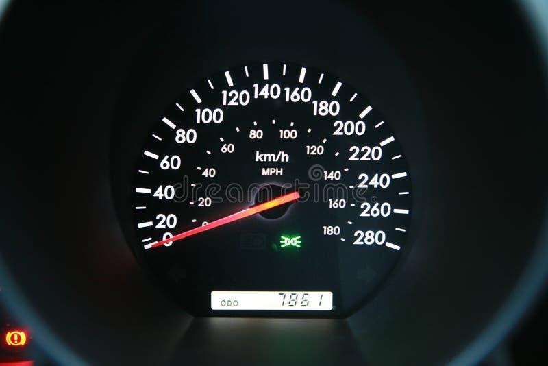 prędkościomierz zdjęcia stock