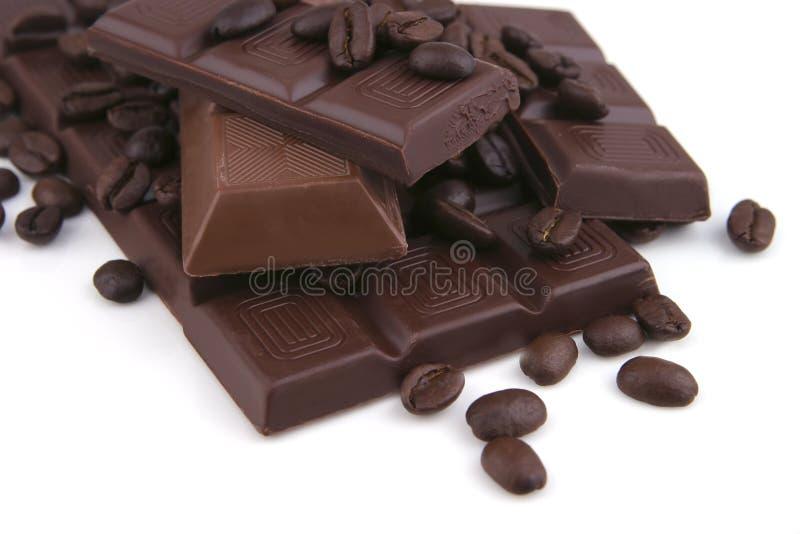 prętowy czekoladowy ciemny milky obraz stock