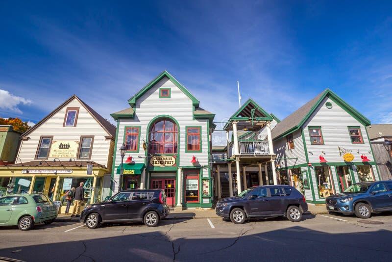 Prętowy schronienie w Maine fotografia royalty free