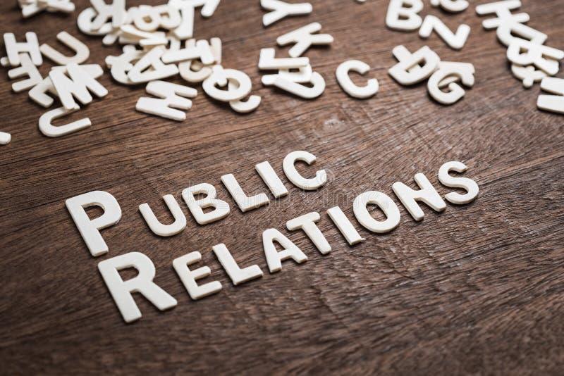 PR связей с общественностью стоковые фото