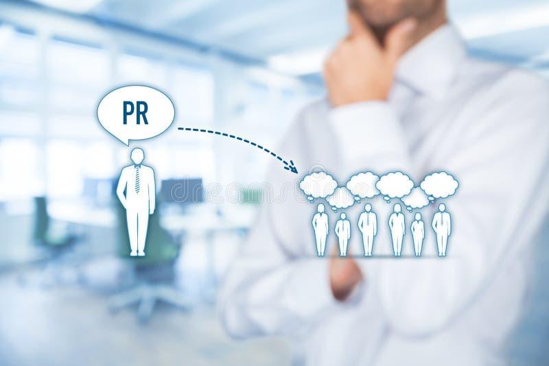 PR связей с общественностью стоковая фотография rf