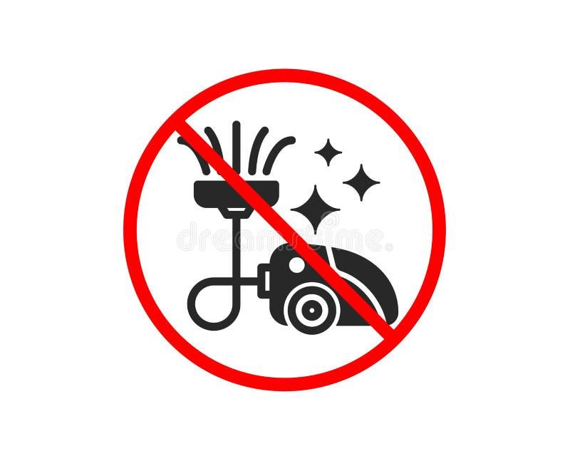 Pr??niowego cleaner ikona czy?ci us?uga wektor royalty ilustracja