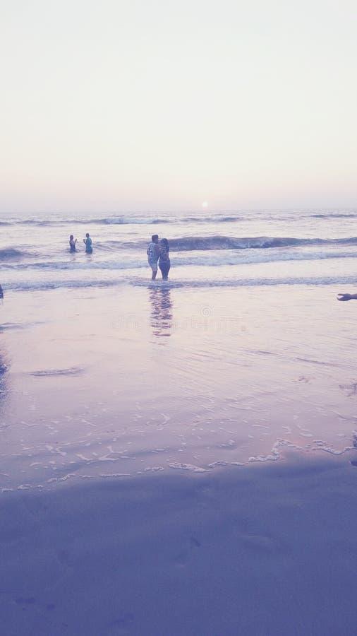 Pr?s de la plage photos libres de droits