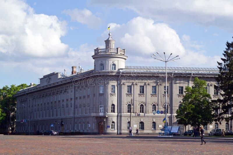 A praça da cidade foto de stock royalty free