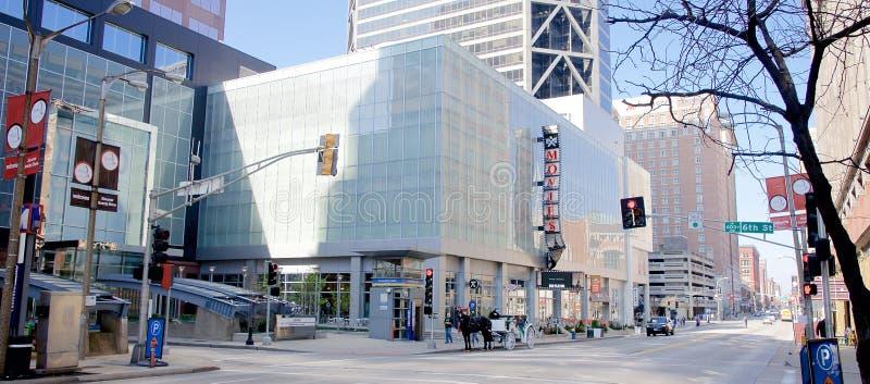 Praça da cidade do centro, St Louis, Missouri imagens de stock