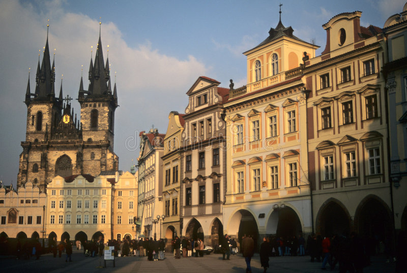 Praça da cidade velha imagem de stock royalty free