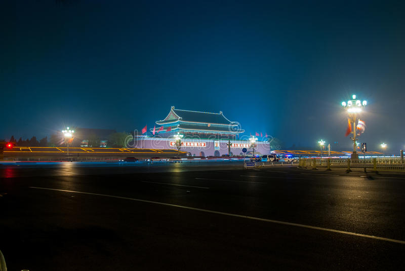 Praça de Tiananmen, Beijing, China imagem de stock royalty free