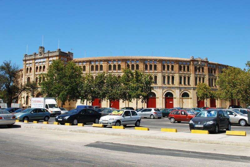 Praça de touros espanhola, EL Puerto de Santa Maria foto de stock