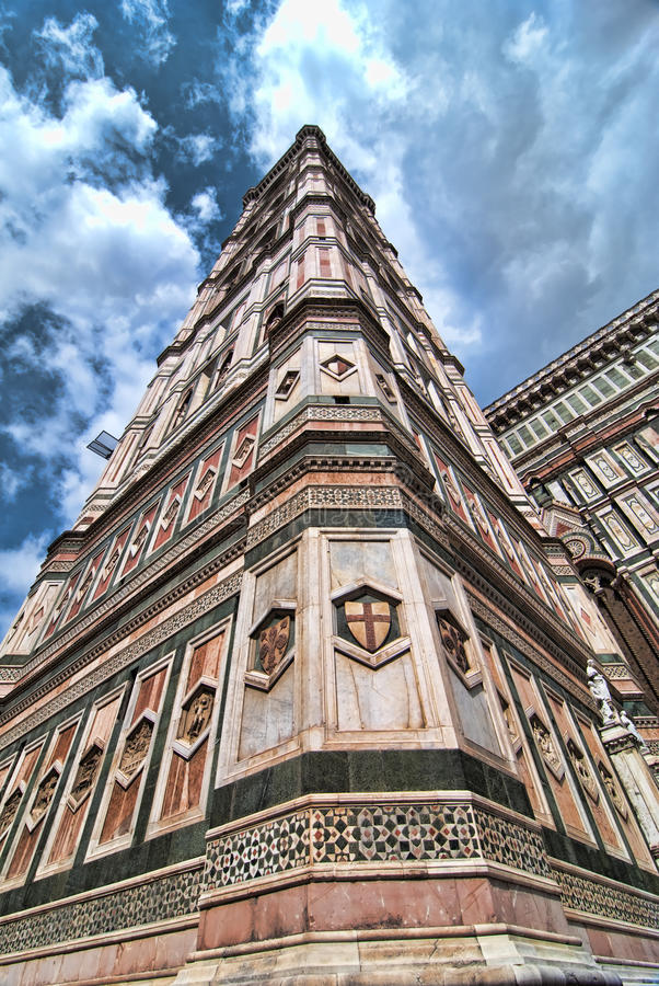 Praça del Domo, Florença fotografia de stock royalty free
