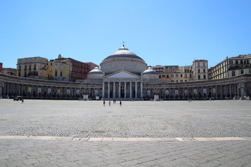 Praça del Plebiscito, Itália fotos de stock