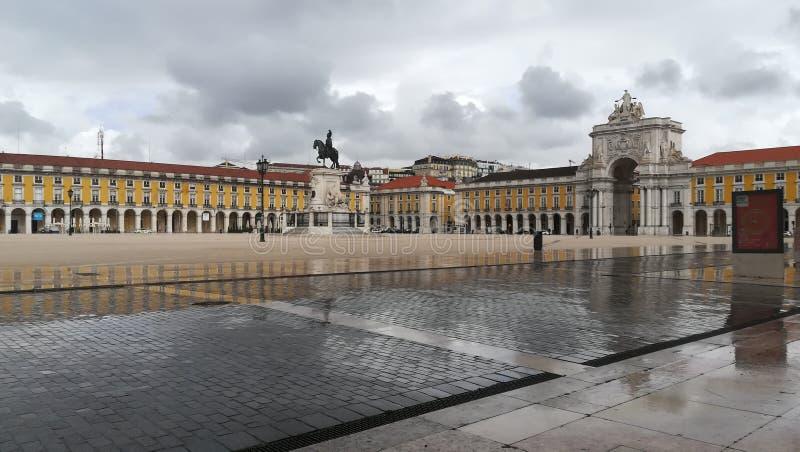Praça do Comércio Lisboa. Praça do Comércio Lisboa. Dav royalty free stock photo