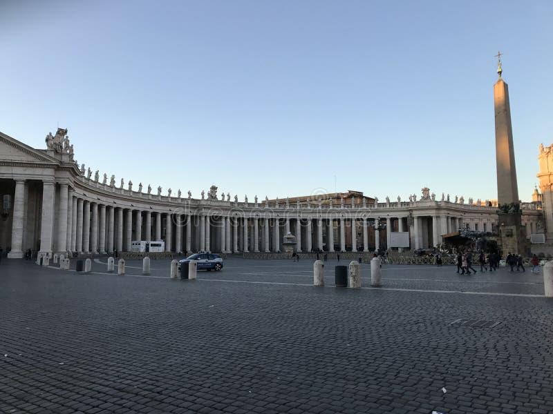 Praça San Pietro - Roma foto de stock