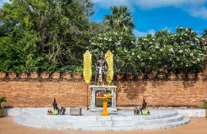 Pra die Lampang Luang, de beroemde oude boeddhistische tempel royalty-vrije stock foto's