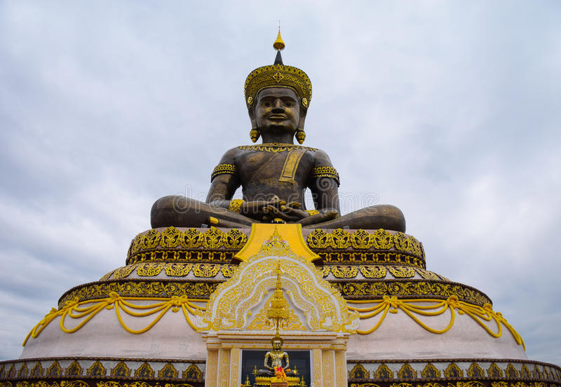 Pra Phuttha Maha Thammaracha, Phetchabun Thailand royaltyfria bilder