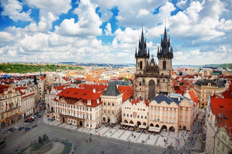 Download Praag stock afbeelding. Afbeelding bestaande uit kasteel - 107704023