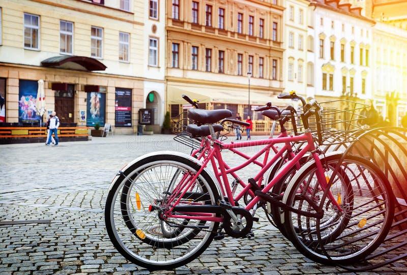 Praag is de hoofdstad van de Tsjechische Republiek stock fotografie