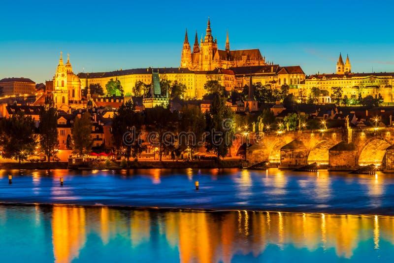 Praag, de Tsjechische Republiek stock afbeeldingen