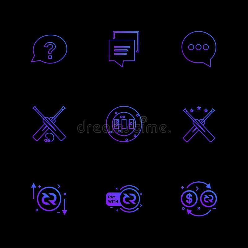 praatje, bericht, gesprek, knuppel, grond, halmet, dollar, p vector illustratie